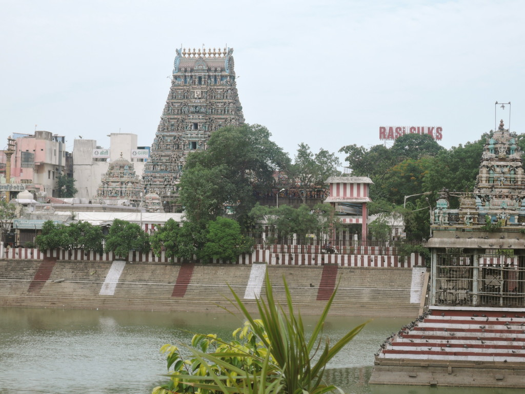 Kapaleeshwarar Temple 7th Century CE, in the busy Mylapore District of Chennai