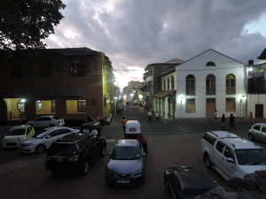 Galle Streets at Night