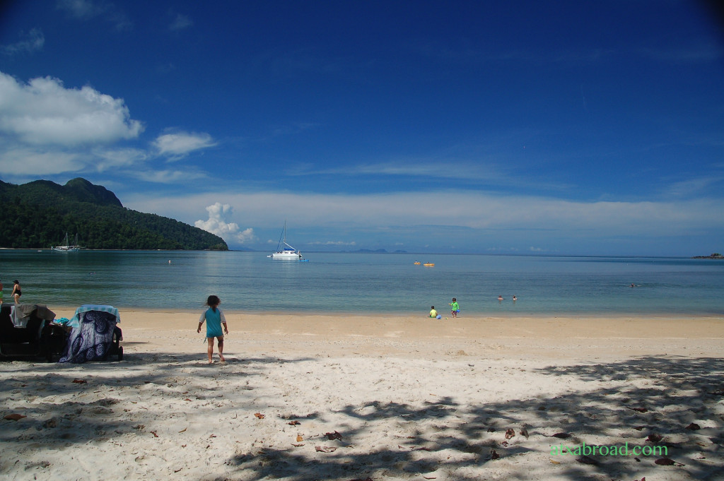 Datai Bay from my Lounger
