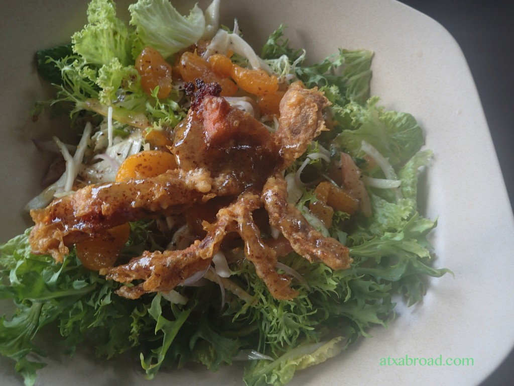Delicious Soft-Shell Crab!