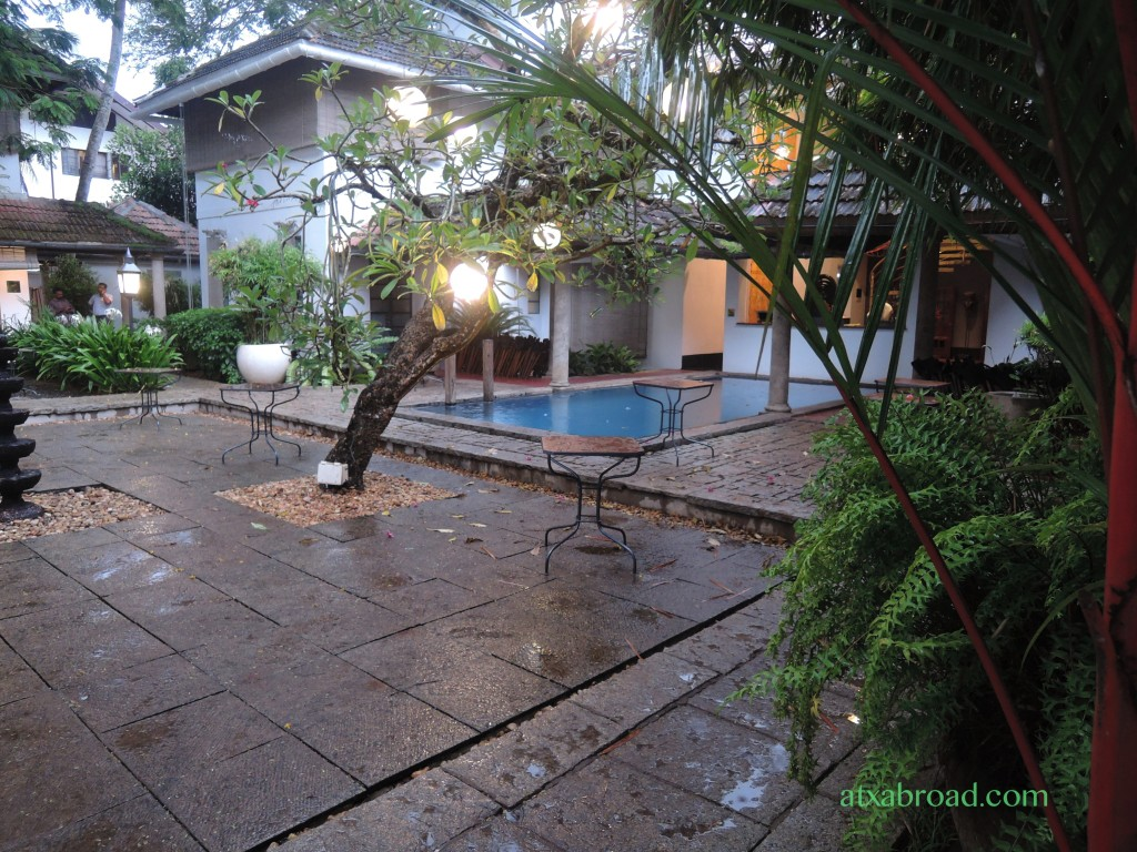 Courtyard and Pool at Malabar House